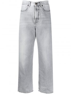 Acne Studios A00118 AA7b25 Relaxed tapered jeans stone grey
