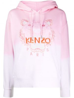 Kenzo Tiger Hoodie Faded Pink