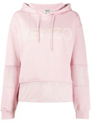 Kenzo Hoodie 34 Faded Pink