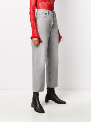 Acne Studios Relaxed Tapered Jeans Stone Grey