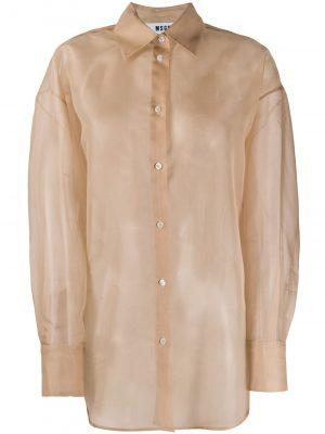 MSGM Shirt Beige