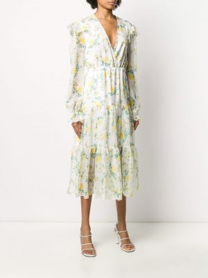 Philosophy Floral Dress Yellow/Green