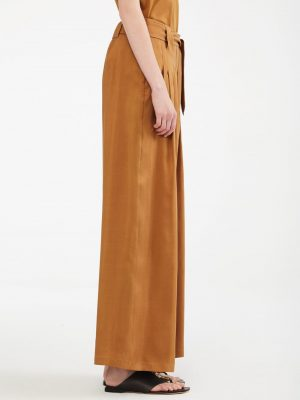 MaxMara ARTEN Trousers Tan