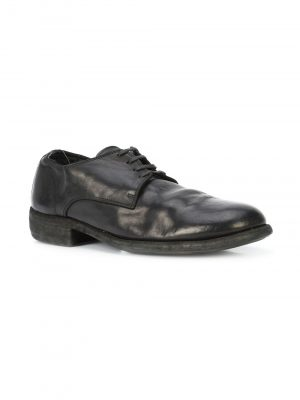 Guidi 992 Classic Derby Shoes Black