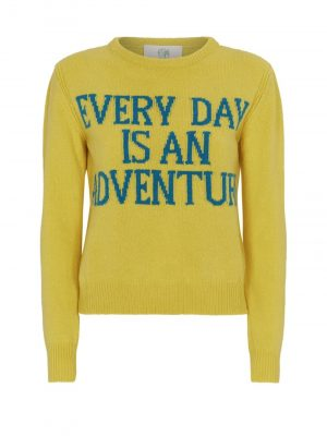 ALBERTA FERRETTI Sweater Yellow