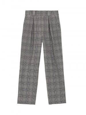 Ganni Pleated Pants Grey