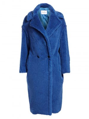 MaxMara SS20 10160493 006 TEDGIRL Coat Cornflower Blue