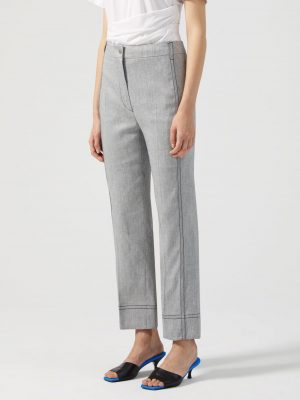 Sportmax UDITO Trousers Grey