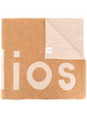 Acne Studios SS20 274176 AHK000 Logo-jacquard scarf