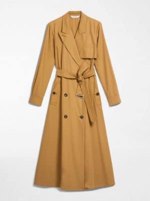 MaxMara SALVO Trench Coat Tan