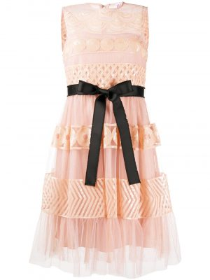 Red Valentino Lace Dress Pink