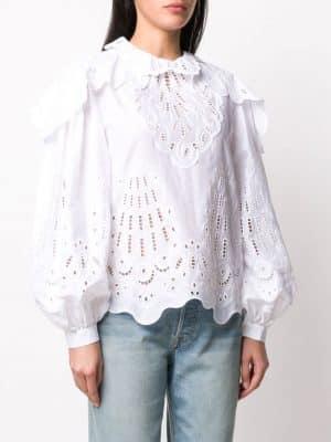 Alberta Ferretti Blouse White