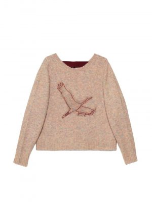 Golden Goose A2 Sweater Pink Melange