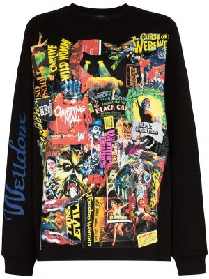 We11Done Black Horror Collage top