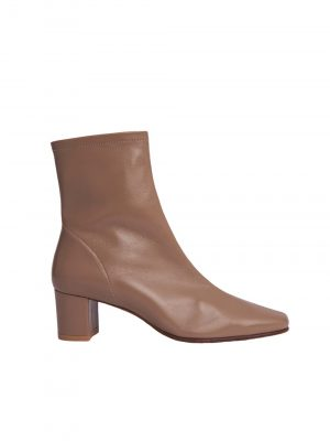 By Far SOFIA Leather Boots Camel