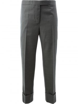 Thom Browne Wool Trousers Grey