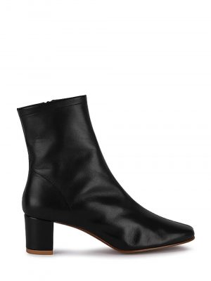 By Far SOFIA Leather Boots Black