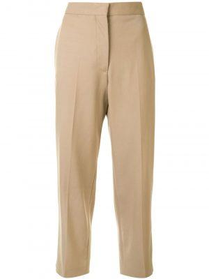 Jil Sander Lang Cropped Woven Pants