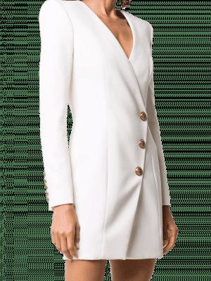 Balmain wrap-style blazer dress