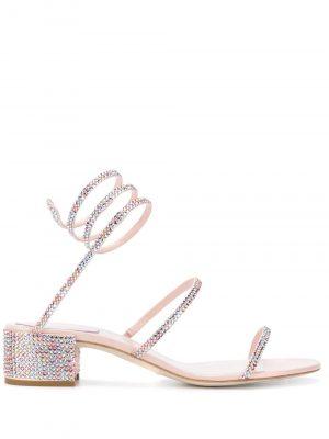 Rene Caovilla 20FW C08671 040 R001V835 CLEO Sandal Pink
