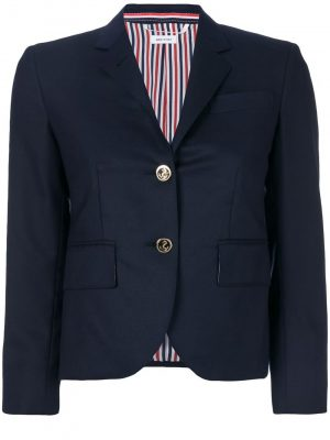 Thom Browne cropped fitted blazer