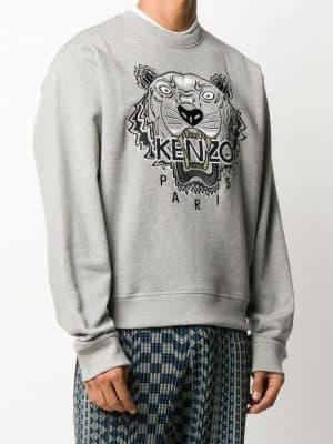 Kenzo varsity Tiger print sweatshirt