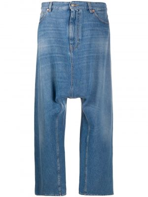MM6 MAISON MARGIELA dropped-crotch jeans