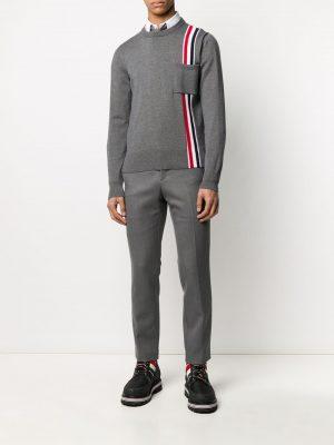 Thom Browne tri-stripe jumper