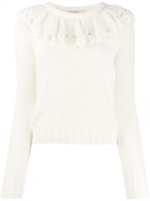 Philosophy ruffled collar jumper