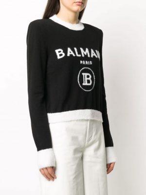 Balmain logo jumper