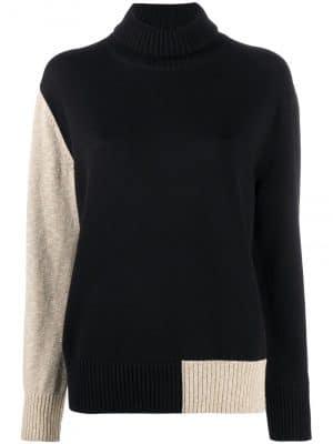 MM6 colour-block pullover