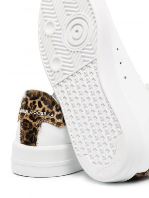 Golden Goose Trainer White with Fur