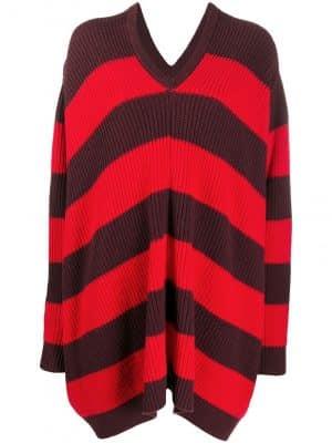 Marni ribbed knit striped jumper