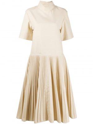 Jil Sander pleated midi dress