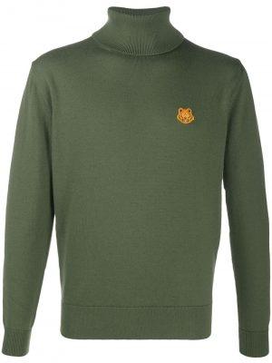 Kenzo high neck wool jumper Olive green