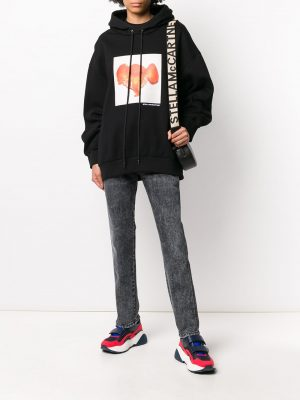 Stella McCartney Elephant Tangerine Sweatshirt Black