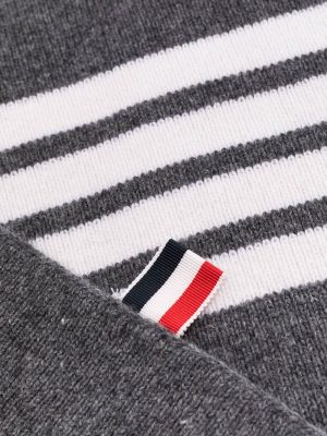 Thom Browne wool knitted scarf