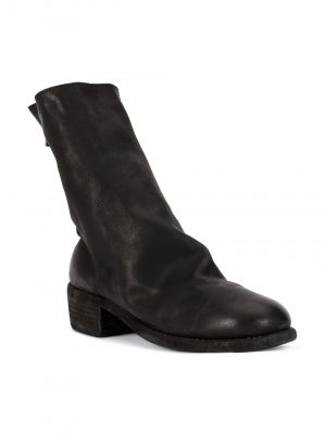 Guidi back zipped mid boots