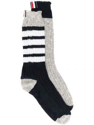 Thom Browne 4-bar detail socks