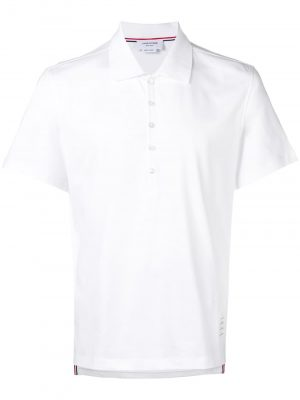Thom Browne 21SS MJP052A-00042 100 Polo shirt White