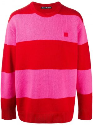 Acne studios block striped sweater