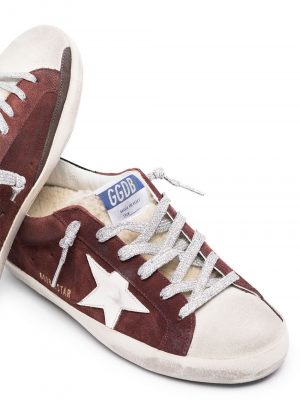 Golden Goose 20FW GWF00101 F000191 80211 Superstar Trainer Burgundy