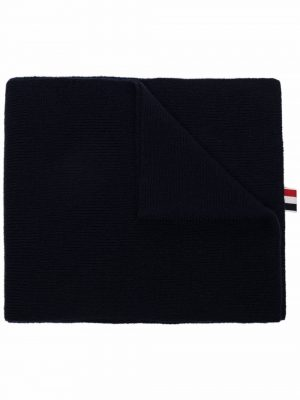 Thom Browne 4-Bar wool knit scarf