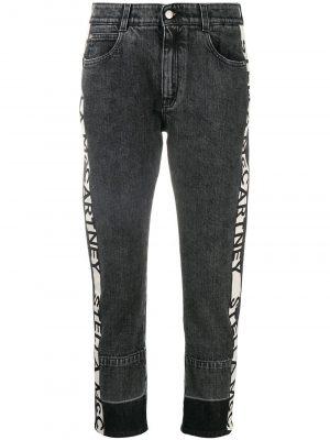 Stella McCartney Logo Skinny Boyfriend Jeans