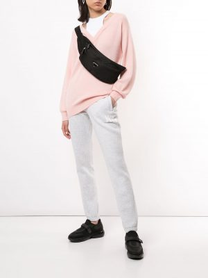 T by Alexander wang 20FW 4KC1201038 681 Layered wool sweater Pink