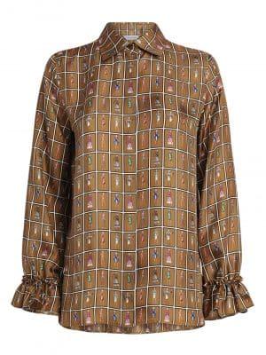 Maxmara UBALDO silk shirt
