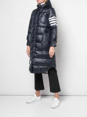 Thom Browne 4-bar puffer jacket