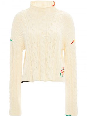 JW Anderson cotton cropped jumper