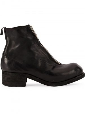 Guidi PL1 front zip ankle boots