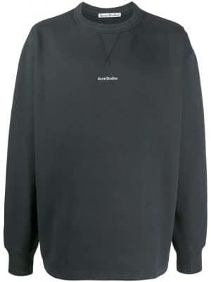 Acne Studios logo print sweatshirt